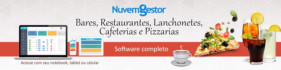 Software para Restaurantes, Bares, Cafeterias, Lanchonetes, Sorveterias, Pastelarias. Sistemas com emissor de Cupom Fiscal, Sat, Nf-e e Nfc-e