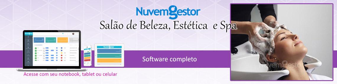 Software Gestão de Salão de Beleza, Estética e Spa
