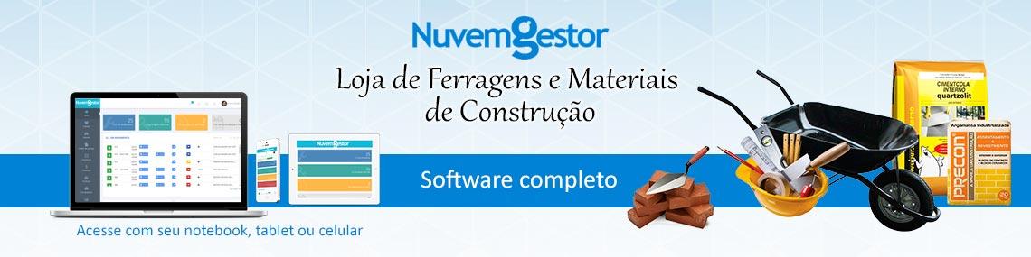 Software Loja de Ferragens e Materiais de Construção